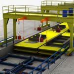 Impianto di saldatura semiautomatico di micro - panel settore cantieristico