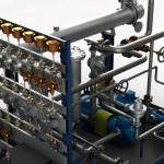 Centralina lubrificazione per turbina vapore