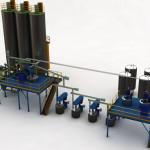 Impianto per produzione idropittura