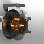 Pompa peristaltica per gruppo analizzatore acque industriali