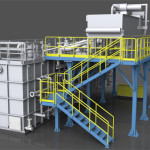 Impianto di filtratura e raccolta liquido emulsionante per impianto di laminazione