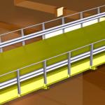 Ponte girevole per transito mezzi pesanti