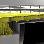 Spaccato costruttivo ponte girevole