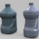 Serie di bottiglie per olio vegetale in PET