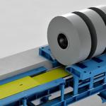 Impianto di traslazione, carico e scarico coil