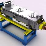 Impianto pilota per cristalizzazione PET