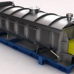 Serie macchine cristallizzatrici ed essicatrici per produzione PET