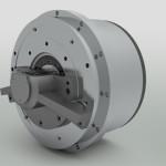 Studio motore traslazione asse X su macchina utensile